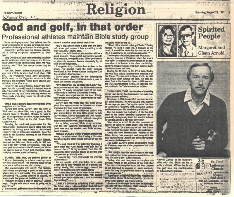 God and golf